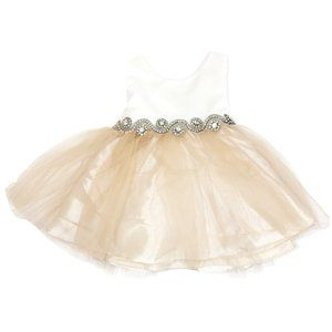 Petite Adele Cream Dress
